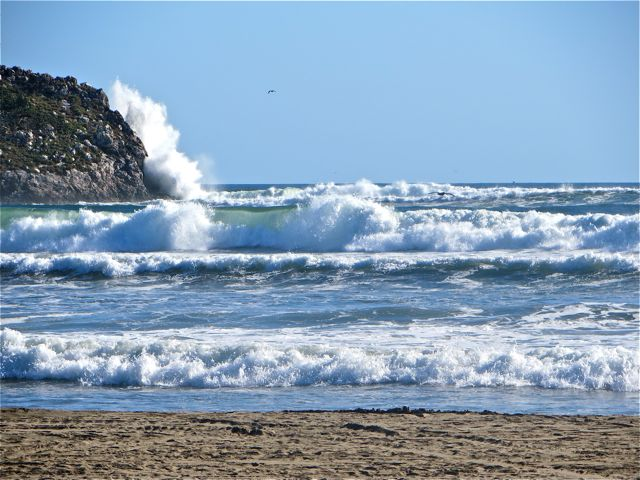 We are on day four of high surf.