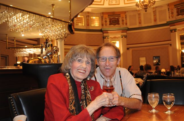 Mommio's official 101st birthday.  Celebrated at where else but the Fort Gary Hotel who also celebrates the same 101 years.