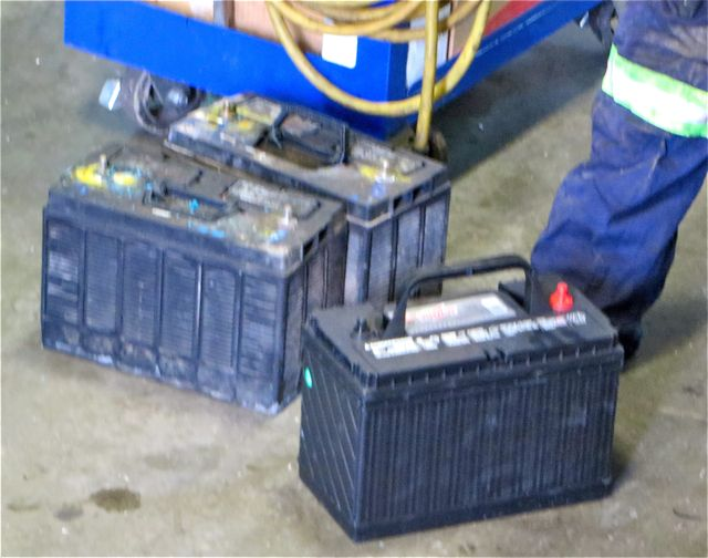 We also needed two new sealed engine batteries which we were expecting to change soon.