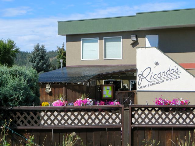 we wnet to dinner at the award winning restaurant that is here attached to our RV Park.