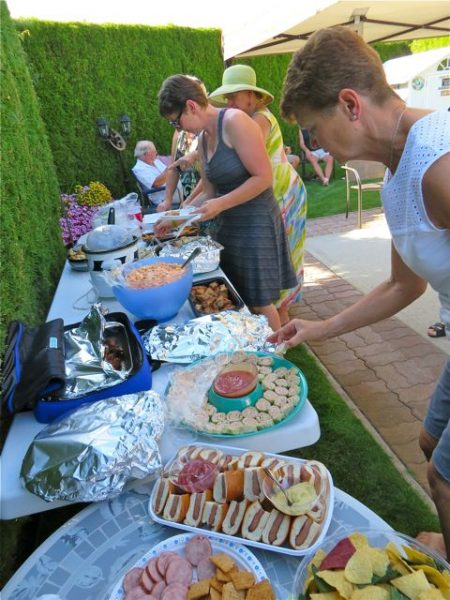 This past Friday was the annual block party. It was hot and muggy at 97F. Not many photos were taken.