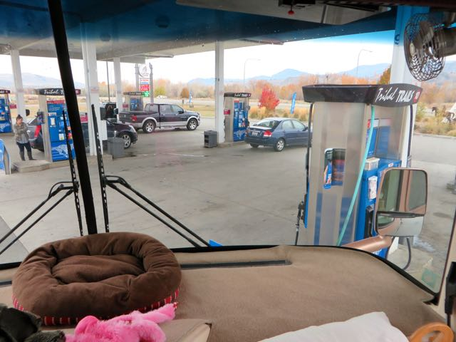 LAst year we stopped just past Omak at a Tribal Fuel stop and the price was great Not so this year.
