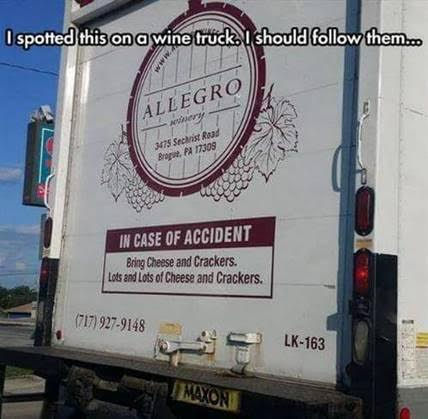 I wonder if we might find this truck in our travels?