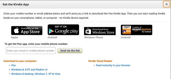 kindle reader for pc download windows 7